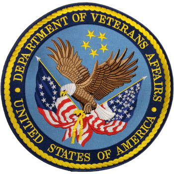 Dept. of Veterans Affairs Large Back Patch