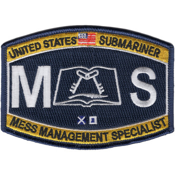 Deck Rating Submarine Mess Management Specialist Patch