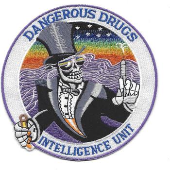 DEA Intelligence Unit Patch