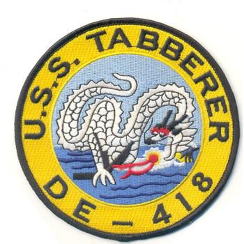 DE-418 USS Tabberer Patch
