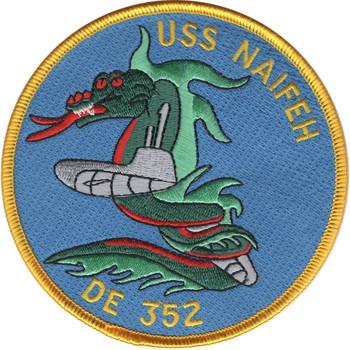 DE-352 USS Naifeh Patch