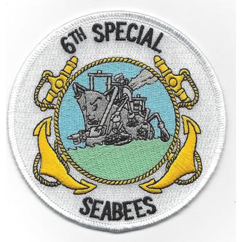 6th Special Mobile Construction Battalion Patch