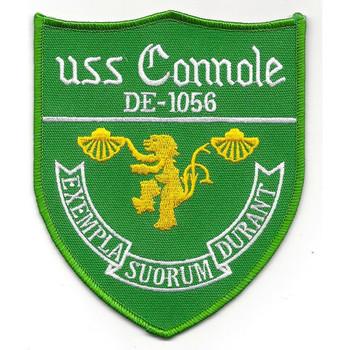 DE-1056 USS Connole Destroyer Escort Ship Patch