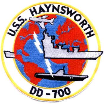 DD-700 USS Haynsworth Patch