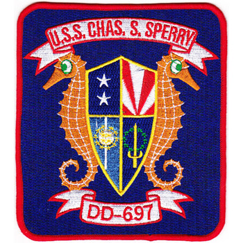 DD-697 USS Charles S Sperry Patch