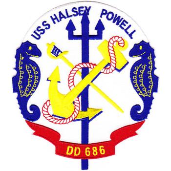 DD-686 USS Halsey Powell Patch - Version A