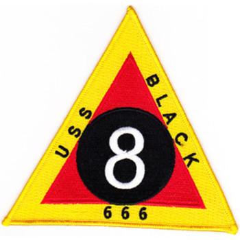 DD-666 USS Black Patch - Version B