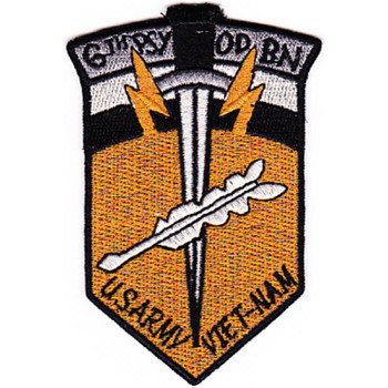 6th Psychological Operations Battalion Vietnam Patch