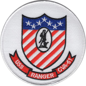 CVA-61 USS Ranger Patch - Version A