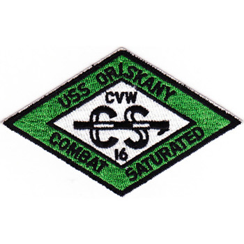 CVA-34 USS Oriskany CVW-16 Green Patch