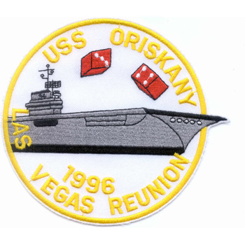 CVA-34 USS Oriskany 1996 Vegas Reunion Patch