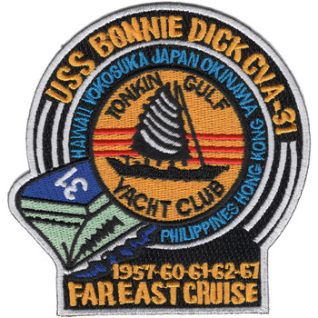 CVA-31 USS Bonnie Dick far east Patch