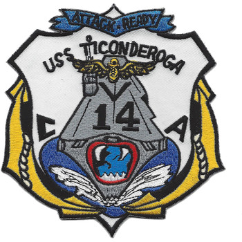 CVA-14 USS Ticonderoga Patch