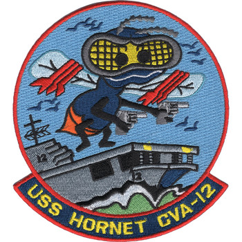 CVA-12 USS Hornet Ship Patch