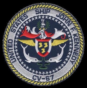 CV-67 USS John F Kennedy Patch