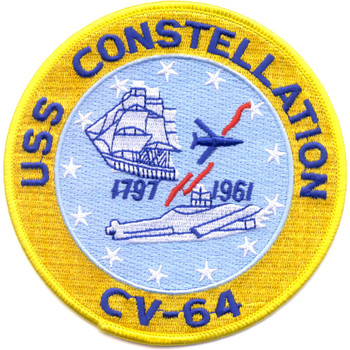 CV-64 USS Constellation Patch
