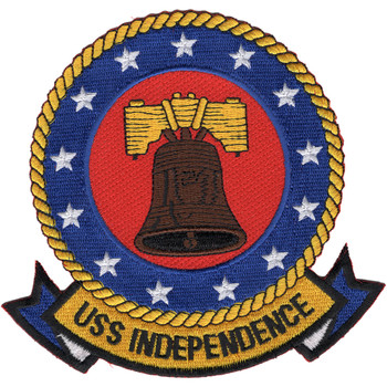 CV-62 USS Independence Patch