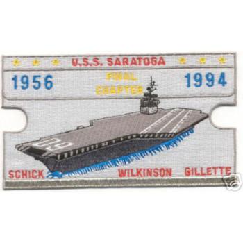 CV-60 USS Saratoga Final Chapter 1956-94 Patch