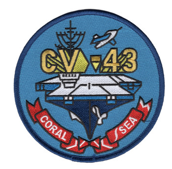 CV-43 USS Coral Sea Patch