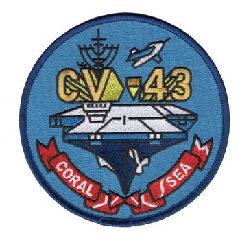 CV-43 USS Coral Sea Patch