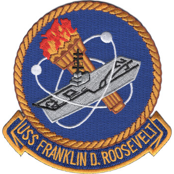 CV-42 USS Franklin D. Roosevelt Patch