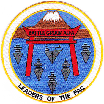 CV-41 USS Midway Battle Group Alfa Patch