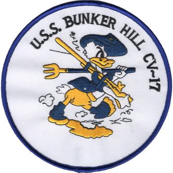 CV-17 USS Bunker Hill Patch