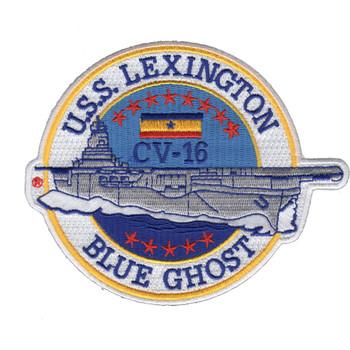 CV-16 USS Lexington Patch