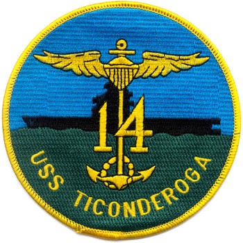 CV-14 USS Ticonderoga Patch