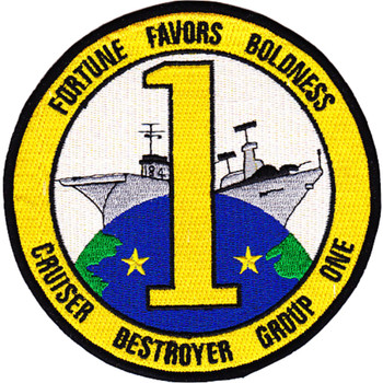 Cruiser Destroyer Group One Patch Insignia B