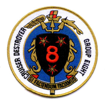 Cruise Destroyer Group 8 Patch