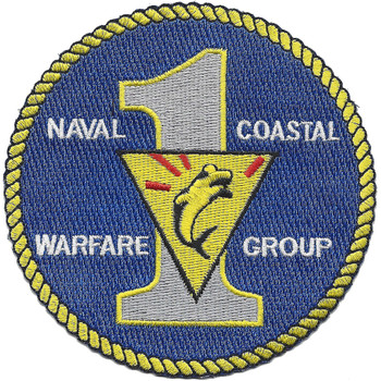 COSWARGRP-1 Coastal Warfare Group One Patch