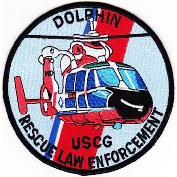 HH-65 Dolphin Rescue Law Enforcement Patch