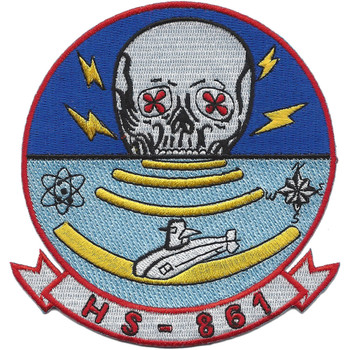 Helicopter Squadron HS-861 Patch