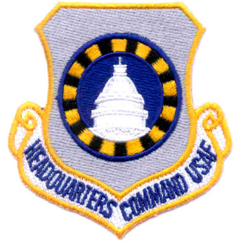 Headquarters Command USAF Patch