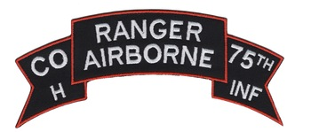 H Company 75th Ranger Airborne Infantry Regiment Patch