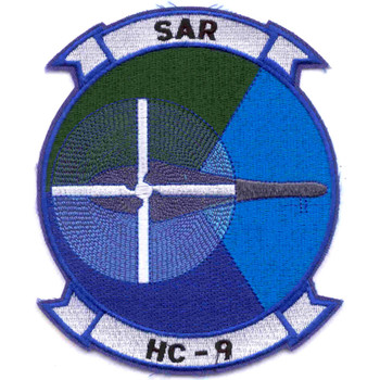 HC-9 Helicopter Combat Support Squadron Patch