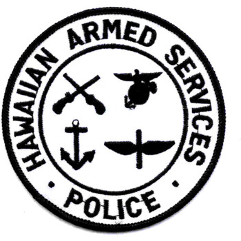 Hawaiian Armed Services Police Joint Services Patch