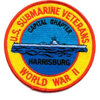 Harrisburg WWII Veterans Submarine Base Patch