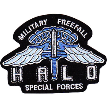 HALO Special Forces Military Freefall Patch