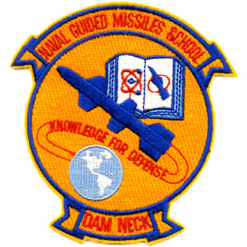 Guided Missiles School Dam Neck Virginia Patch