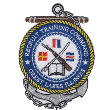 Great Lakes Illinois Naval Recruit Training Command Patch