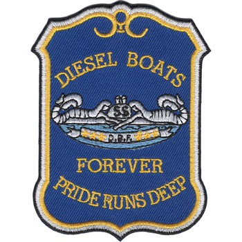 Diesel Boats Forever Patch