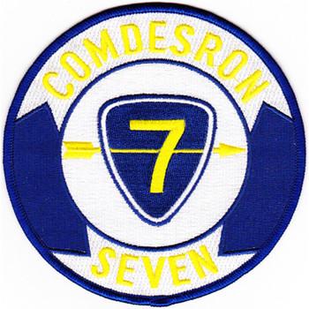 DESRON 7 Destroyer Squadron Patch