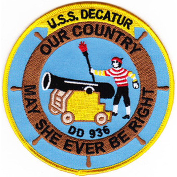 DD-936 USS Decatur Patch