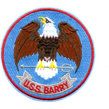 DD-933 USS Barry Patch