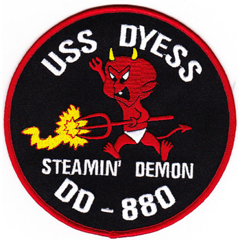 DD-880 USS Dyess Patch - A Version