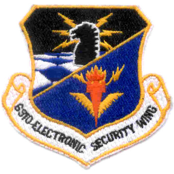 6910th Electronic Security Wing ESW Patch