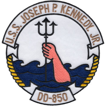DD-850 USS Joseph P Kennedy Jr Patch