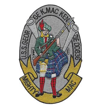 DD-836 GEORGE K. MACKENZIE Mighty Mac Patch